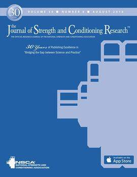 Journal of Strength and Conditioning Research