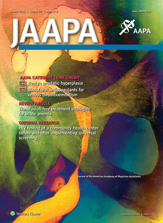 Journal of the American Academy of PAs