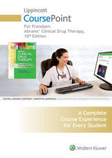 Lippincott CoursePoint for Frandsen: Abrams' Clinical Drug Therapy