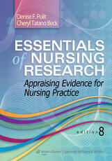 VitalSource e-Book for Essentials of Nursing Research