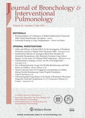 Journal of Bronchology & Interventional Pulmonology Online