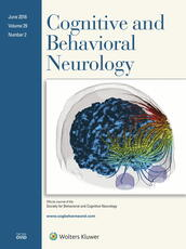 Cognitive and Behavioral Neurology Online