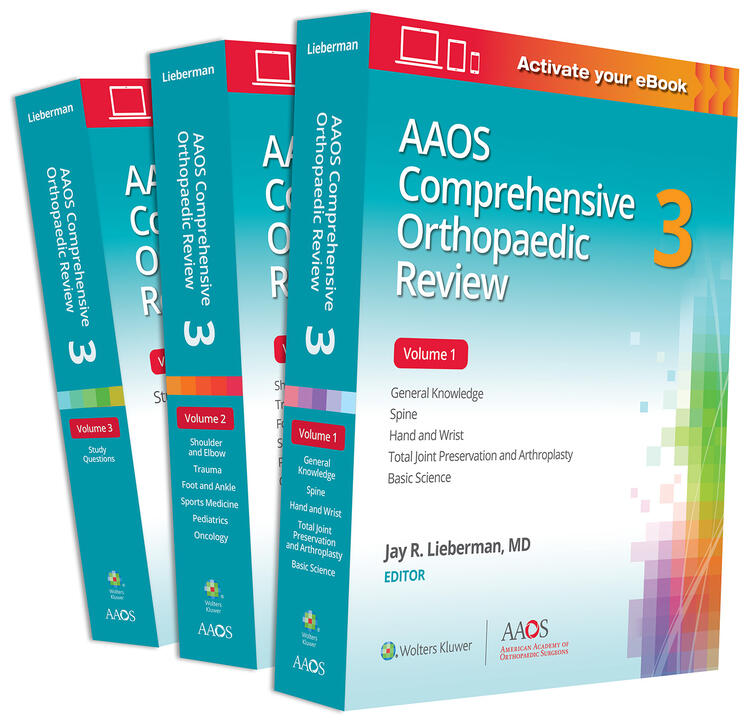 AAOS Comprehensive Orthopaedic Review 3