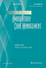 Journal of Ambulatory Care Management