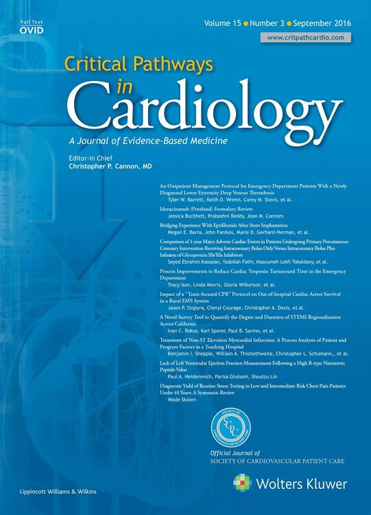 Critical Pathways in Cardiology