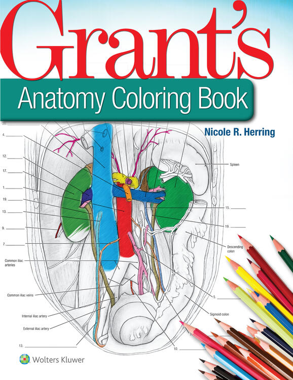 Grant's Anatomy Coloring Book