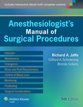 Anesthesiologists manual of surgical procedures fandeluxe Choice Image