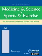 Medicine & Science in Sports & Exercise<sub>®</sub>