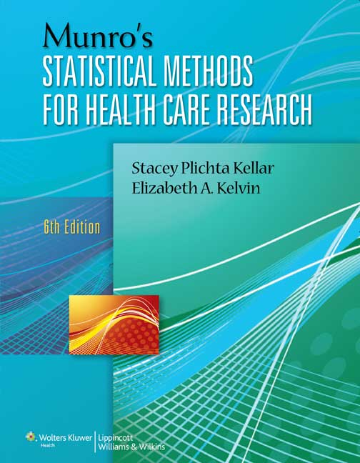 Munro's Statistical Methods for Health Care Research?max=230