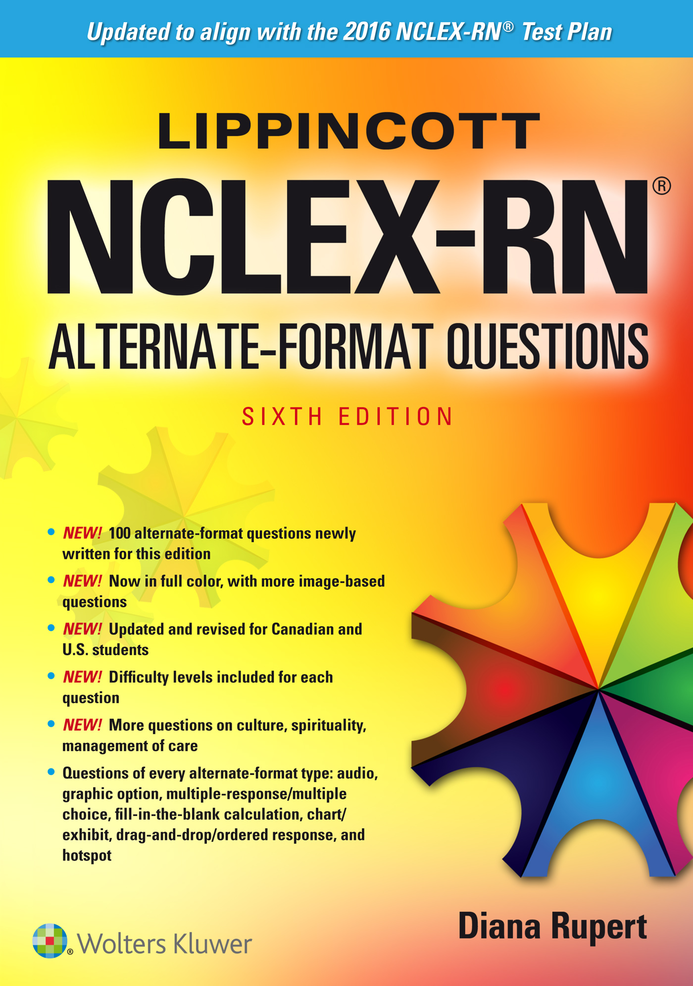 Nursing lww official store wolters kluwer wolters kluwer book lippincott nclex rn alternate format questions xflitez Choice Image