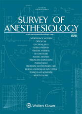 Survey of Anesthesiology Online