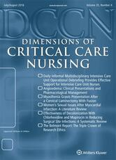 Dimensions of Critical Care Nursing Online