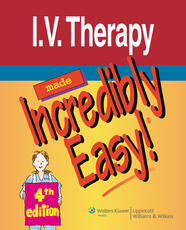 VitalSource e-Book for I.V. Therapy Made Incredibly Easy!