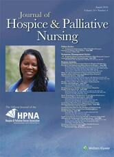 Journal of Hospice and Palliative Nursing Online