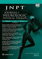 Journal of Neurologic Physical Therapy Online