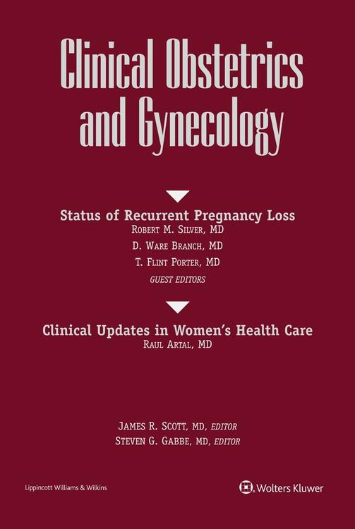 Clinical Obstetrics and Gynecology