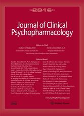 Journal of Clinical Psychopharmacology Online