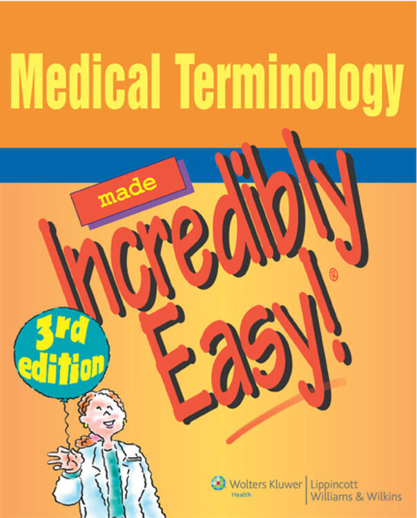 VitalSource e-Book for Medical Terminology Made Incredibly Easy!