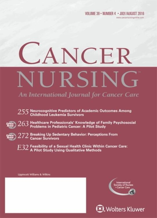 Cancer Nursing