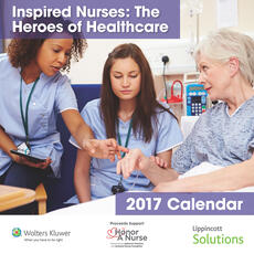 2017 Lippincott Solutions Inspired Nurses Calendar