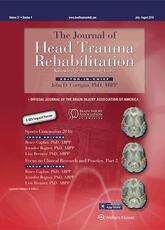 Journal of Head Trauma Rehabilitation