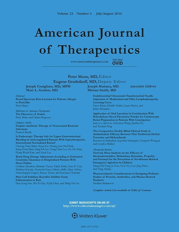 American Journal of Therapeutics