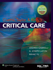 Civetta, Taylor and Kirby's Critical Care