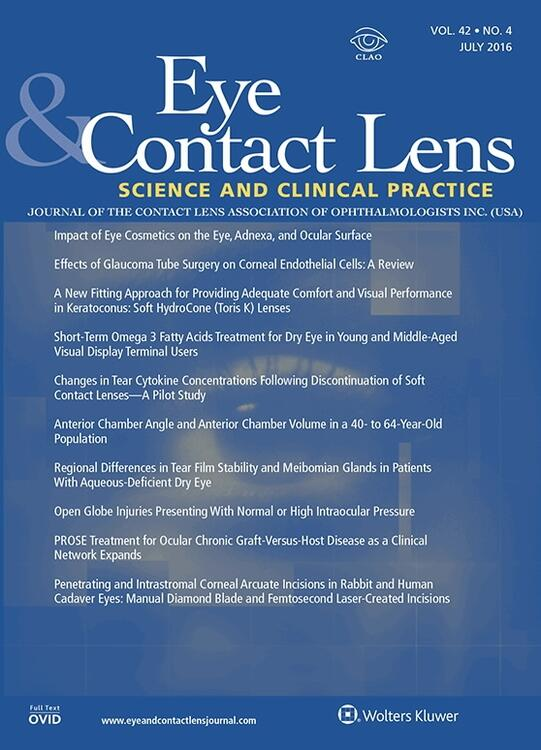 Eye and Contact Lens: Science and Clinical Practice