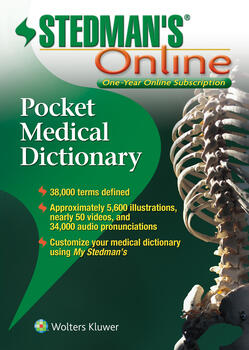 Stedman's Pocket Dictionary Online