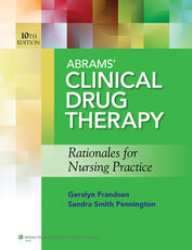 Abrams Clinical Drug Therapy 10e Text & PrepU Package