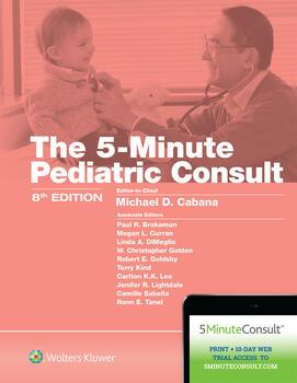 5 Minute Pediatric Consult