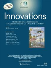 Innovations: Technology and Techniques in Cardiothoracic and Vascular Surgery