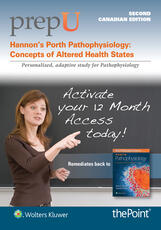 PrepU for Hannon's Porth Pathophysiology