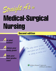 VitalSource e-Book for Straight A's in Medical-Surgical Nursing