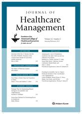 Journal of  Healthcare  Management