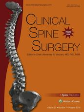 Clinical Spine Surgery Online