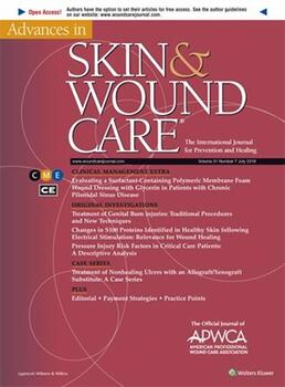 Advances in Skin & Wound Care Online