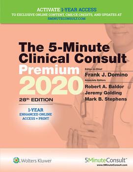 5-Minute Clinical Consult Premium 2020