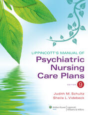 VitalSource e-Book for Lippincott's Manual of Psychiatric Nursing Care Plans