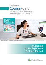 Lippincott CoursePoint for Karch: Focus on Nursing Pharmacology