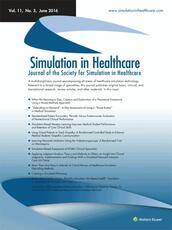 Simulation in Healthcare