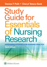 Study Guide for Essentials of Nursing Research