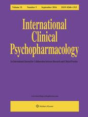 International Clinical Psychopharmacology