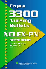 VitalSource e-Book for Frye's 3300 Nursing Bullets for NCLEX-PN
