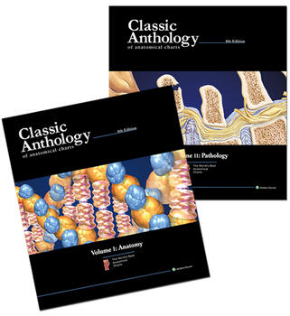 Classic Anthology of Anatomical Charts Book