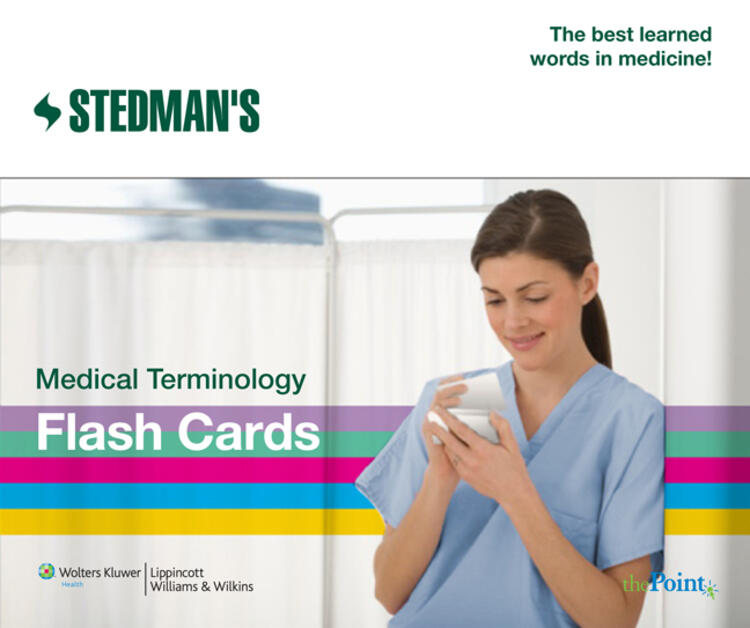 Stedman's Medical Terminology Flash Cards