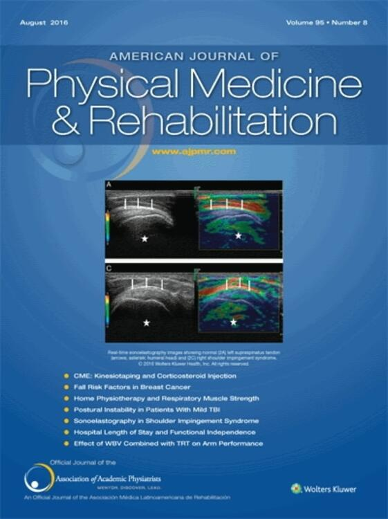 American Journal of Physical Medicine and Rehabilitation