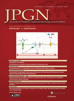 Journal of Pediatric Gastroenterology and Nutrition