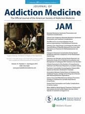 Journal of Addiction Medicine