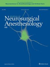 Journal of Neurosurgical Anesthesiology Online